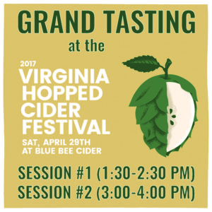 Grand Tasting Image both - Blue Bee Cider - 2017 Hopped Cider Festival-01